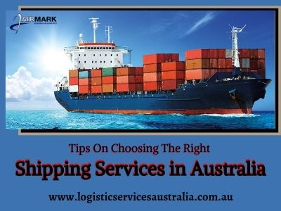 Shipping services in Australia