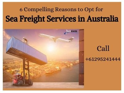 Sea Freight services Australia